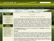Tablet Preview of ijzerlo.nl